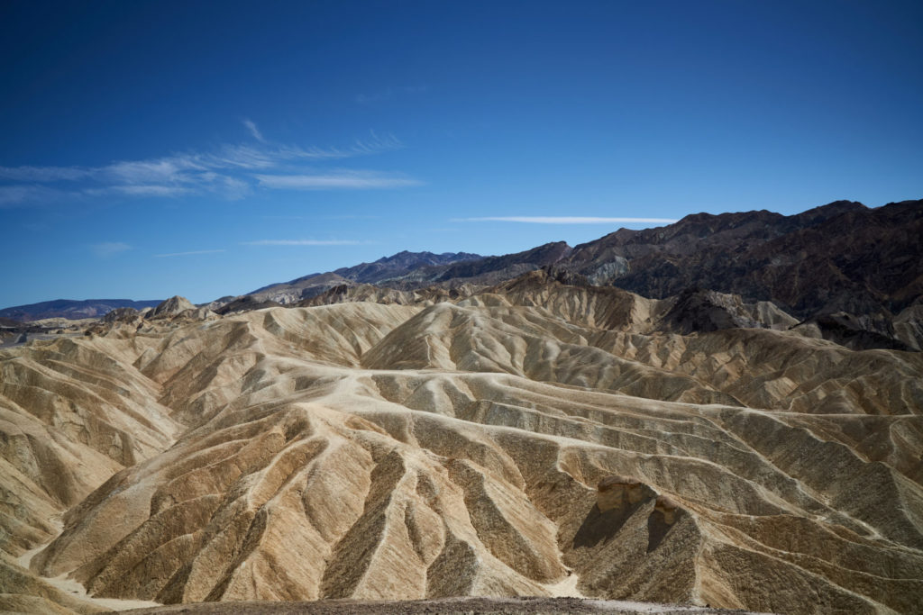Roadtrip Südwesten USA Death Valley Zabriskie Point