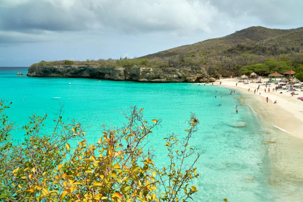 Kreuzfahrt Mein Schiff 5 kleine Antillen Curacao Knip Beach