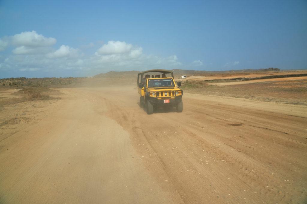Kreuzfahrt Mein Schiff 5 kleine Antillen Aruba Jeep Safari