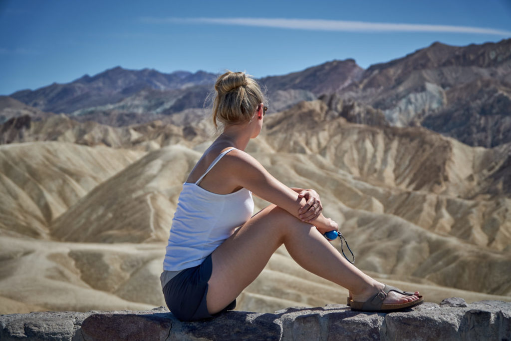 Die perfekte USA Roadtrip Route durch den Südwesten: death valley zabriskie point