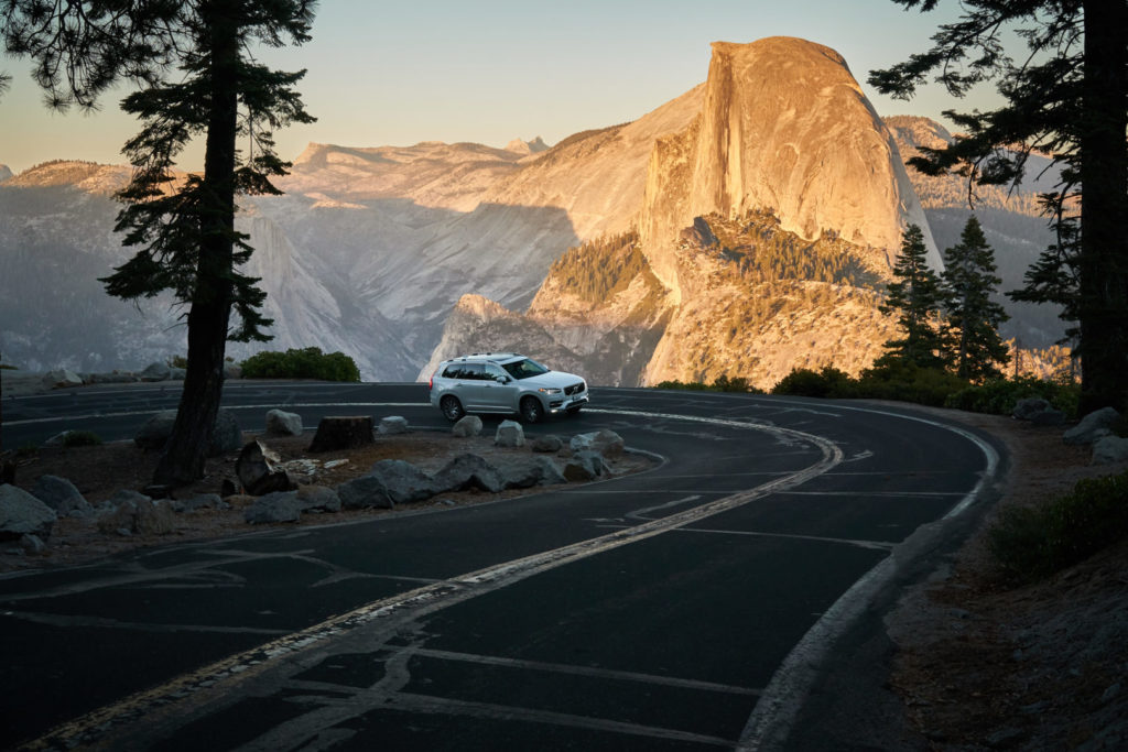 Die perfekte USA Roadtrip Route durch den Südwesten: Glacier Point im Yosemite Park mit Half Dome