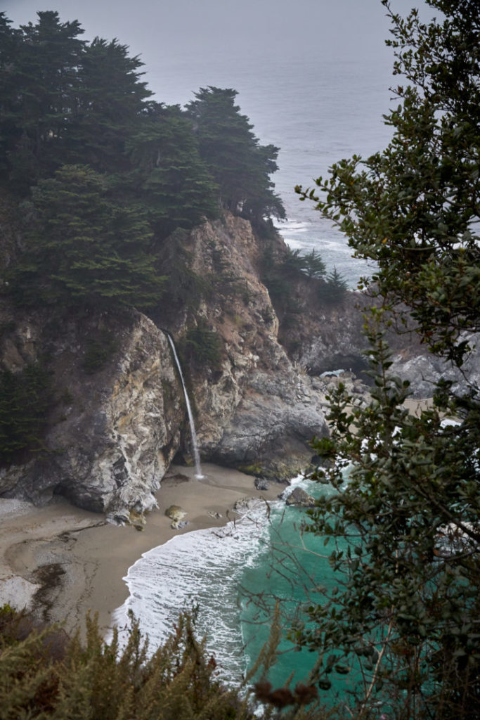 Die perfekte USA Roadtrip Route durch den Südwesten: highway no 1 pfeiffer state park monterey