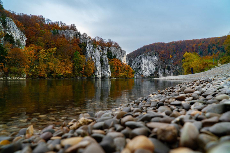Weltenburger Enge bei Kelheim, Oberpfalz Urlaub.