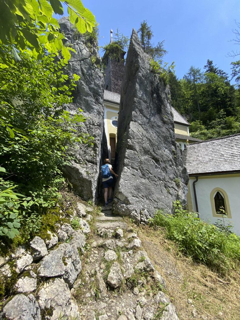 Kapelle Mariastein am Schmugglerweg.