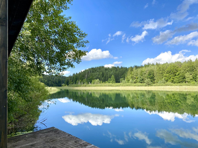 Ausflüge am Chiemsee: Die seeoner Seenplatte.