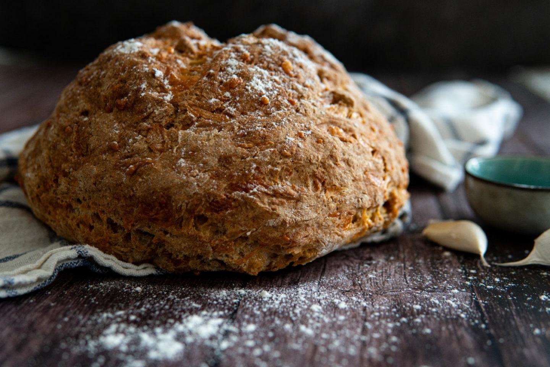 Brot backen mit Natron: Irisches Sodabrot gebacken mit Natron ohne Hefe