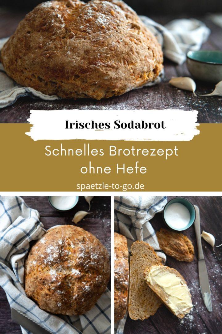 Irisches Sodabrot gebacken mit Natron ohne Hefe