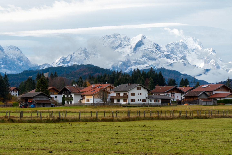 Alpenidylle Karwendel: Geroldsee