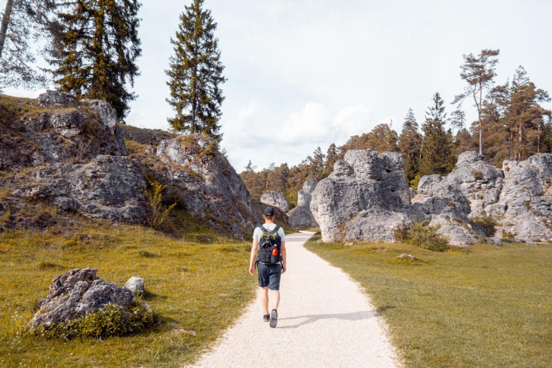 Ausflug Felsenmeer Schwäbische Alb
