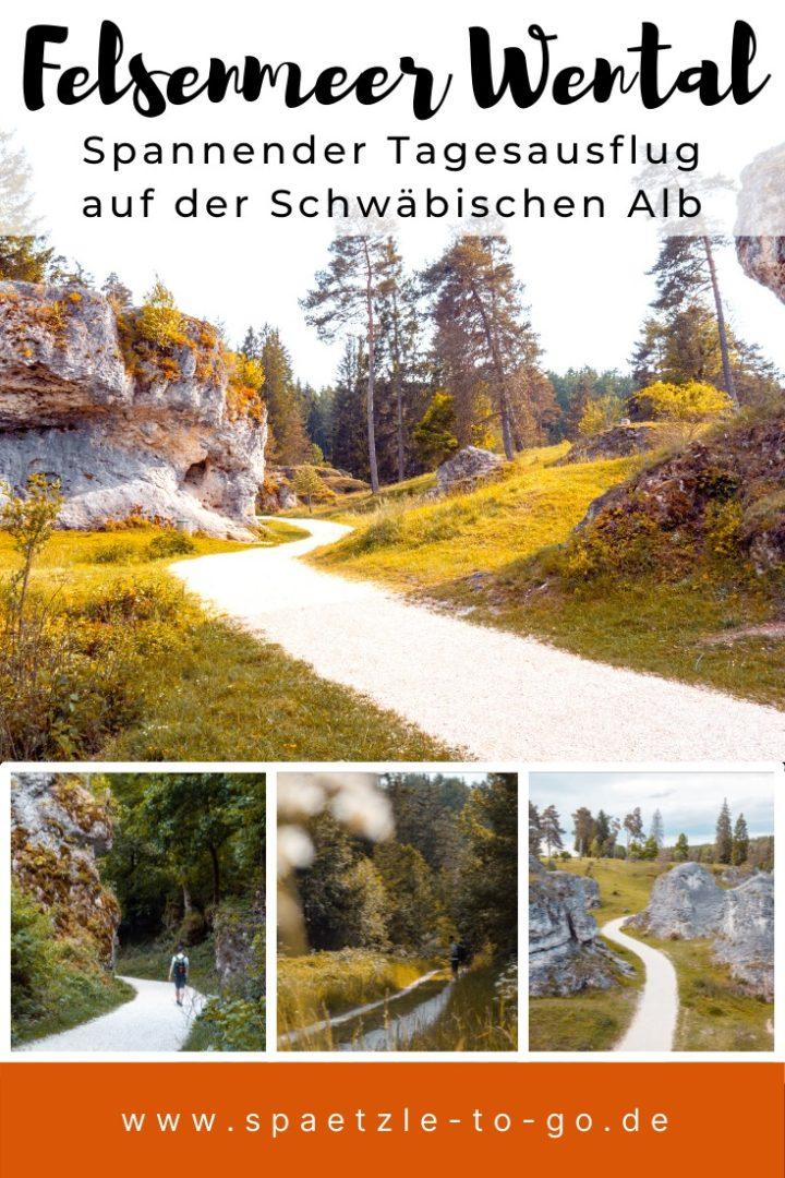 Ausflug zum Felsenmeer im Wental - Ostalb und Meteoritenkrater Steinheimer Becken