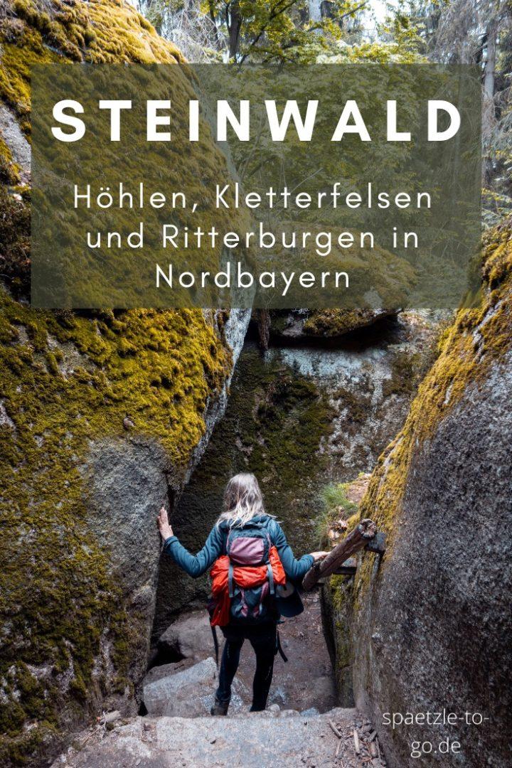 Naturpark Steinwald Felsenlabyrinth Luisenburg