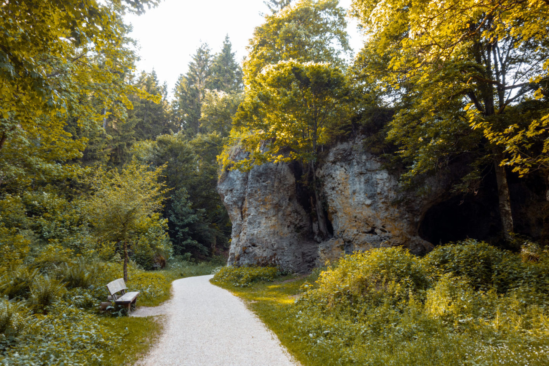 Meteoritenkrater im Wental auf der Schwäbischen Alb
